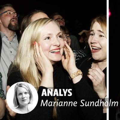 Analys av Marianne Sundholm.