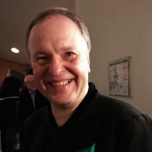 Sakari Oramo Berliinin Filharmoniassa 28. marraskuuta 2019.