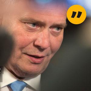 Antti Rinne i närbild
