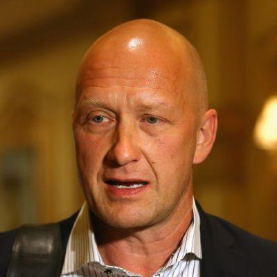Jarmo Kekäläinen talar i intervju.