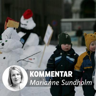 Kommentar av Marianne Sundholm