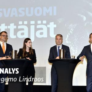 Analys av Ingemo Lindroos.