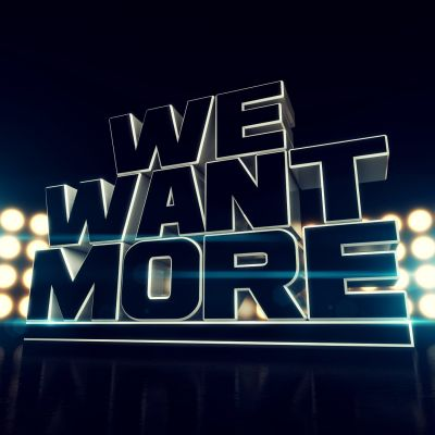 We Want More logo