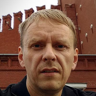 Bild av Anders Mård vid Kreml