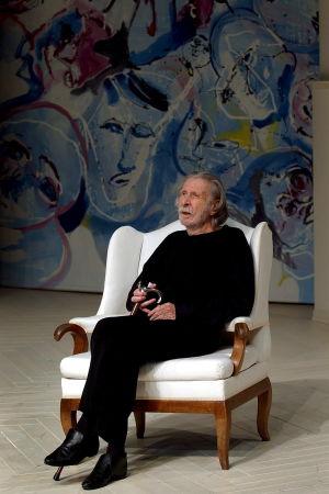 Porträtt av teatermannen Georg Tabori 2004.