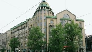 Nya studenthuset i Helsingfors.