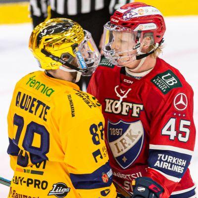Donald Audettes Lukkos har FM-ligans bästa poängsnitt och Micke-Max Åstens HIFK det näst bästa.