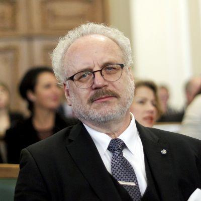 Presidentti Egils Levits.