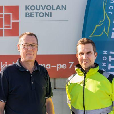 Pekka Huotari ja Simo Tahvanainen