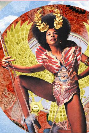 Funklaulaja Betty Davis poseeraa. Kuva dokumenttielokuvasta Betty: They Say I'm Different.