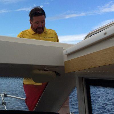 Saimaa Boating Oy:n toimitusjohtaja Olli Österlund