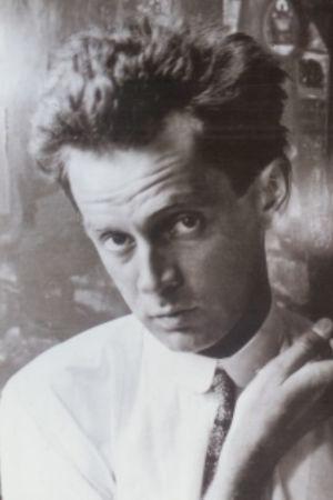 Den österrikiska konstnären Egon Schiele 1918.