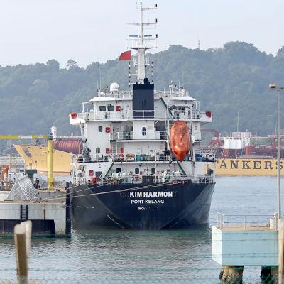 Det malaysiska tankfartyget Orkim Harmony angreps år 2015 av sjörövare från Indonesien