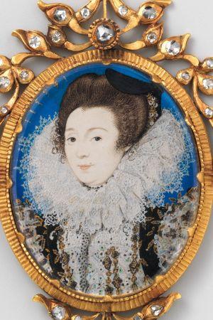 Nicholas Hilliard: Naisen muotokuva, Englanti 1597