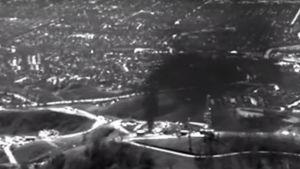 Stillbild av metanläcka i Kalifornien.