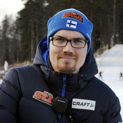 Ilkka Jarva ei jatka Suomen hiihtomaajoukkueen valmennuksessa ensi kaudella. Arkistokuva vuodelta 2014.