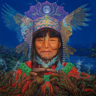 Geenss Archenti, Justina, Peru, ayahuasca
