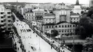 Vanha kuva Tampereesta