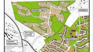 Karta över Dönsby West.