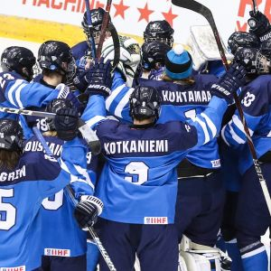 Finlands U18-landslag i hockey.