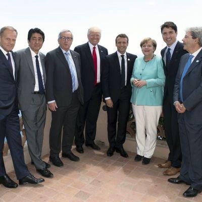 Johtavien teollisuusmaiden johtajat