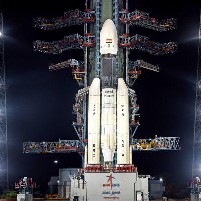 Intian kantoraketti Chandrayaan-2.