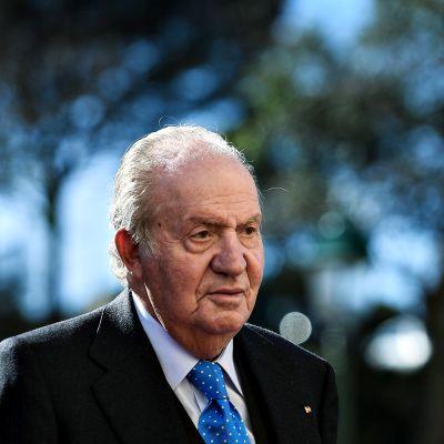 Juan Carlos kuvattuna helmikuussa 2018.