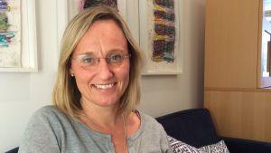 Mikaela Romantschuk, verksamhetsleare för förbundet Hem och Skola