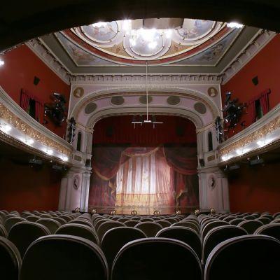 En teatersalong.
