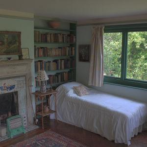 Virginia Woolfs säng i Monk's House