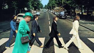 Queen Elisabeth photoshop.