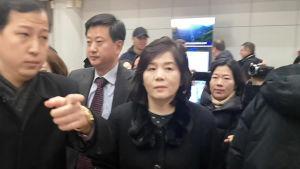 Nordkoreas Choe Son-hui reser.