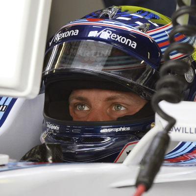 Valtteri Bottas Williams fungerade väl under testerna i Österrike.