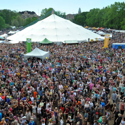 Festival i Helsingfors.