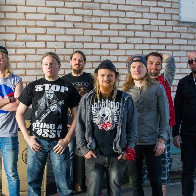 valomerkki-sarjan bändin kaikki soittajat