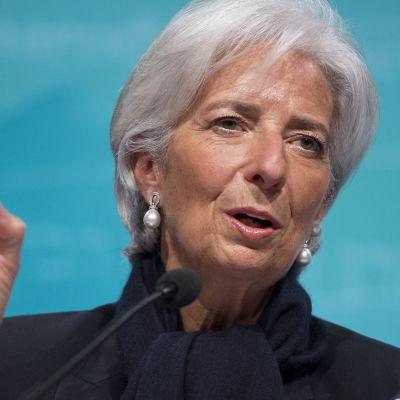 IMF:n pääjohtaja Christine Lagarde.
