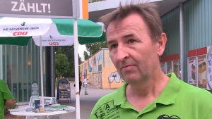 Holger Gasse är kristdemokraterna representant i delstatsparlamentet