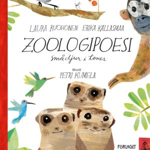 """Pärmen till bilderboken """"Zoologipoesi""""."""