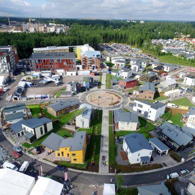 Vantaan asuntomessualue Kivistössä 9. heinäkuuta.