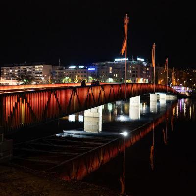 Savonlinnan Torisillan uusi valaistus