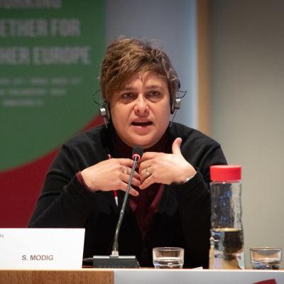 Silvia Modig, Vänsterförbundets Europaparlamentariker