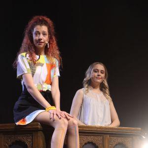 Anette Aghazarian ja Amelie Blauberg