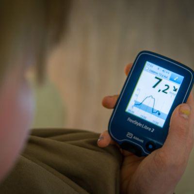 Diabetessensorit mittaavat verensokerin helposti