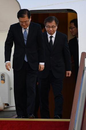 Den sydkoreanska delegationen återvände hem till Sydkorea med goda nyheter med sig i bagaget