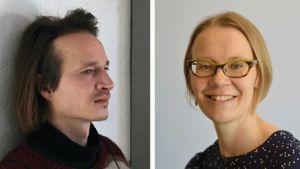 Lassi Hyvärinen och Kaisa Ahvenjärvi.