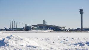 SAS-plan vid Gardemoens flygplats