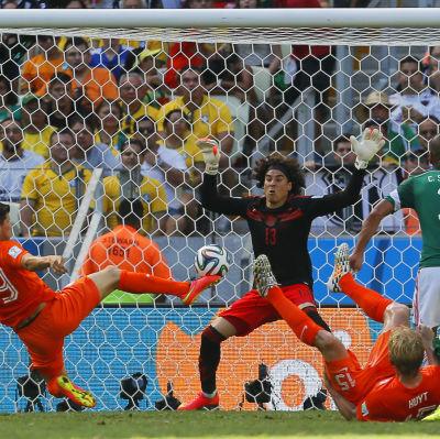 Guillermo Ochoa, Holland under VM 2014
