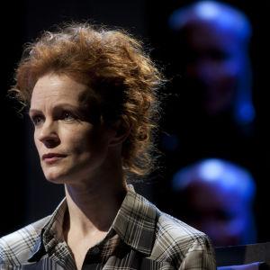 Foto från Olipa kerran minä på Nationalteatern.