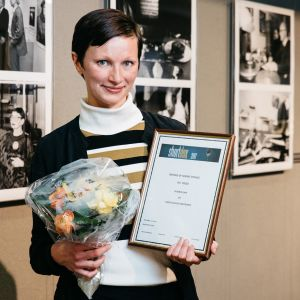 Shortdox 2017 voittaja Nanna Hauge Kristensen