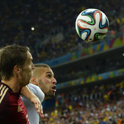 Islam Slimani under VM 2014